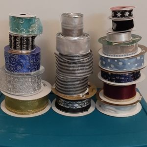 Large Wired Ribbon Lot
